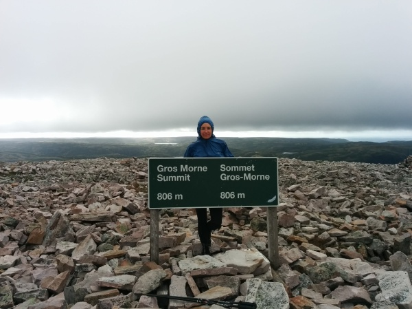 Cold windy summit, take 2.